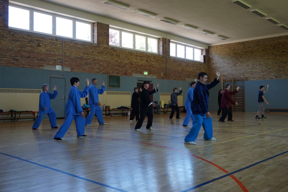 Übungsgruppe Camp in Papstdorf 2018