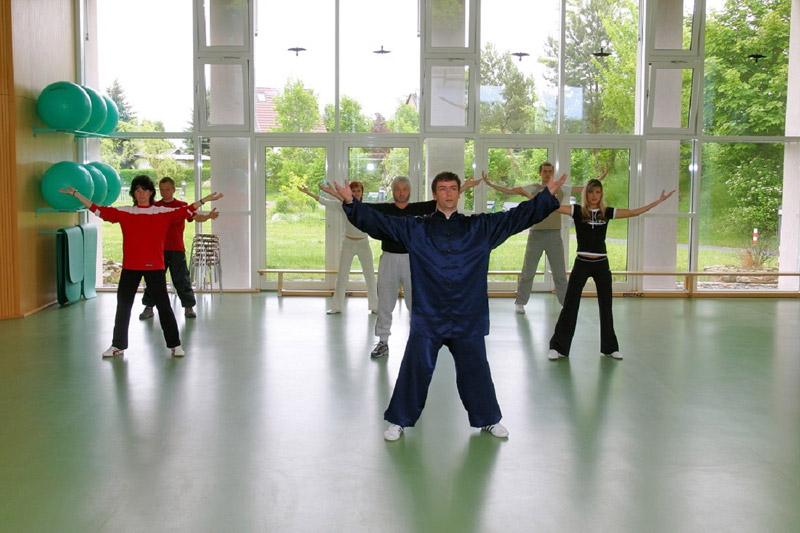 Übungsgruppe Falkensteinklinik 2005