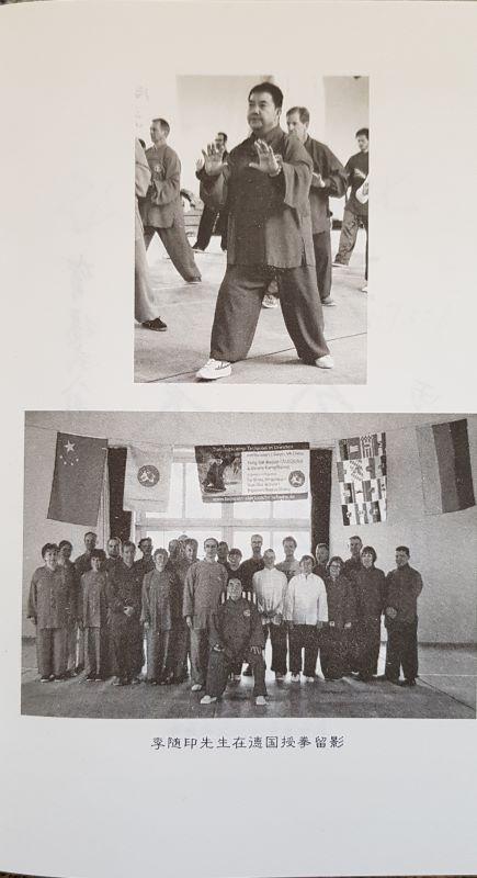 Buchseite Yang Stil-Bagua Taijiquan