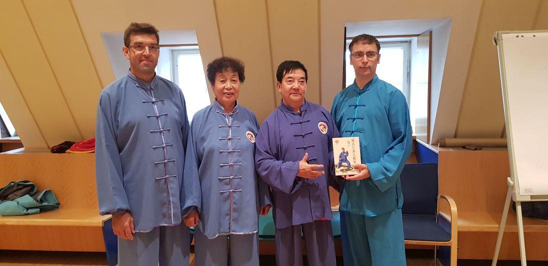 Buch Präsentation mit Meister Li Suiyjn in Bad Schandau 2018